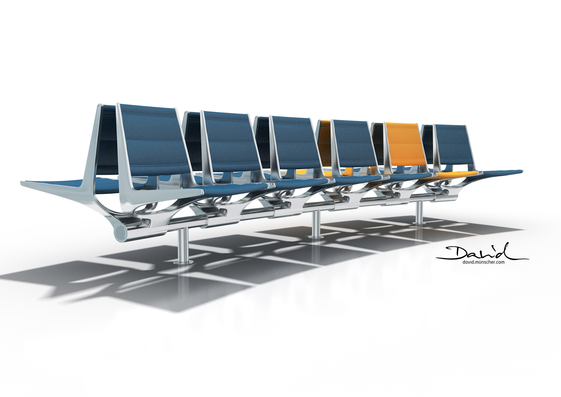 Modular Airport Seating