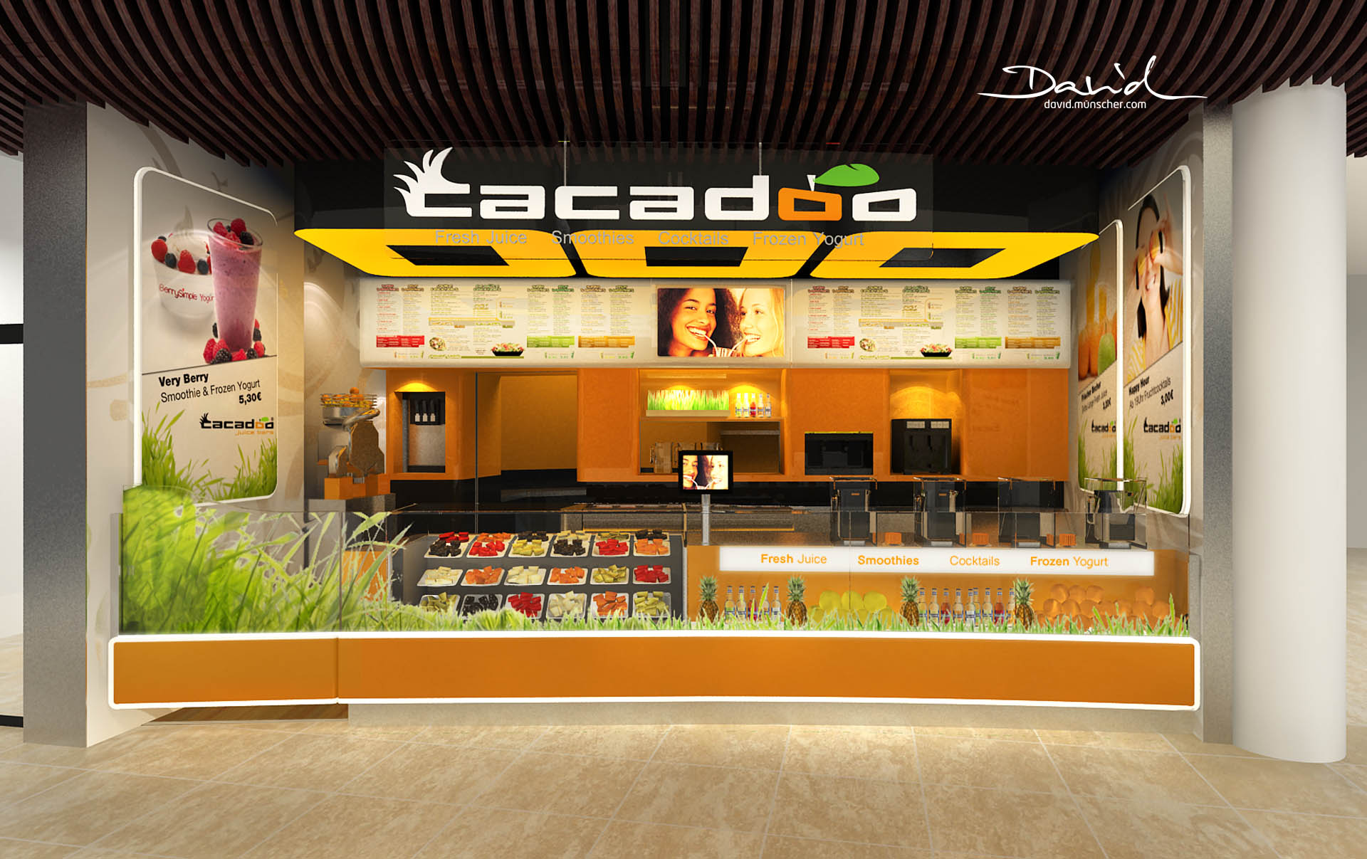 Cacadoo Juice Bar Lp12 David M 252 Nscher Product Design