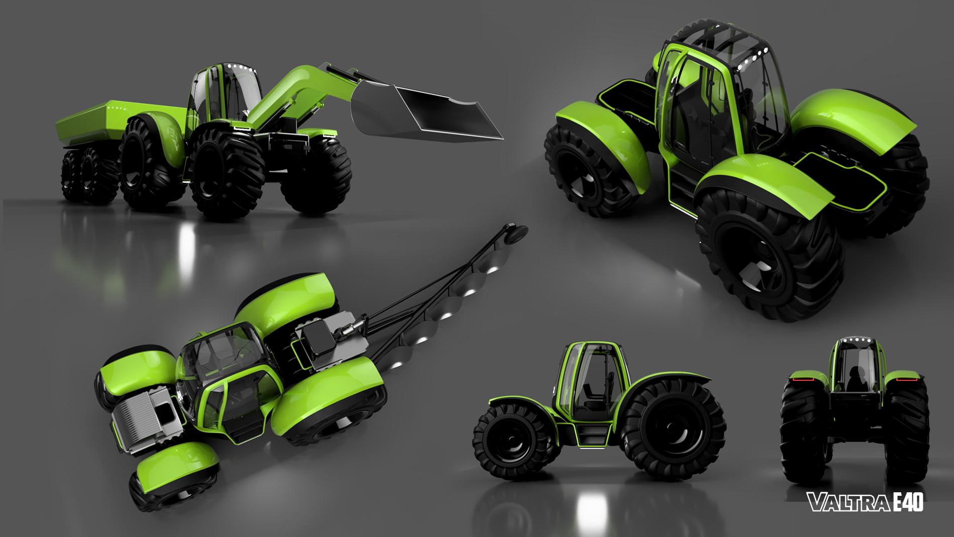 Valtra E40 | Tractor
