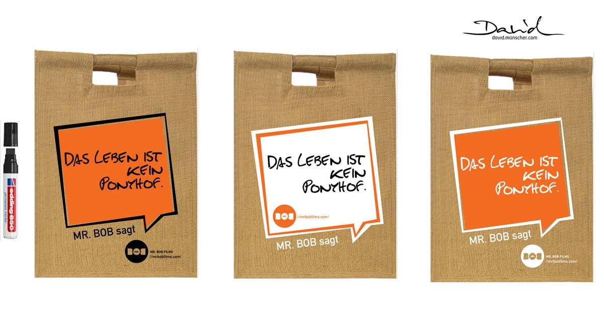 Mr.Bob Films | Promotional Bag